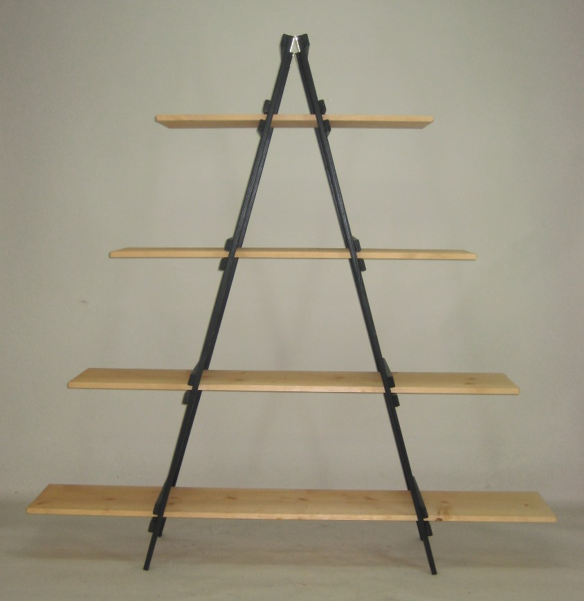 Specialty Wood Products - A-Frame Shelf Display
